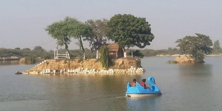 Blue Bird Lake tourist places in hisar